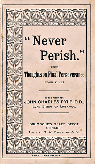 J. C. Ryle tract cover.